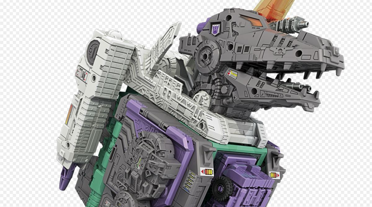 Images of the Day: Titanic Trypticon T-Rex Transformer