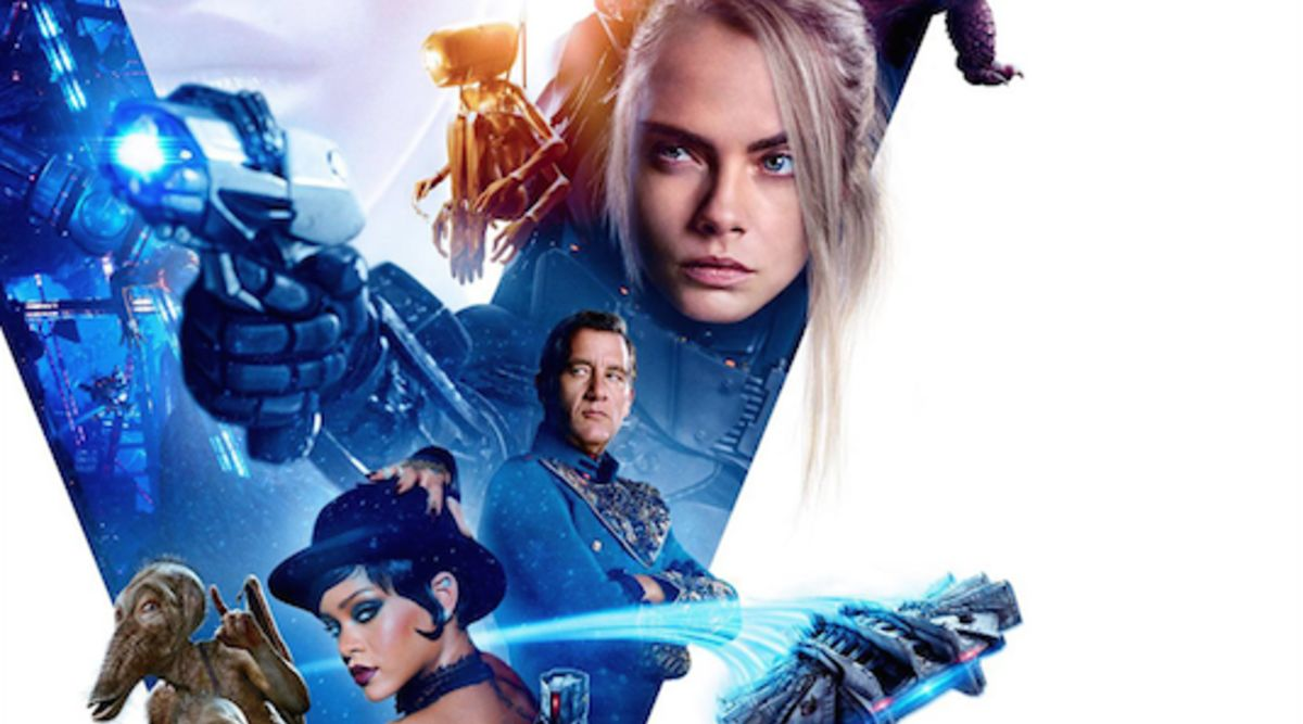 Images of the Day: New Valerian and the City of a Thousand Planets poster  still
