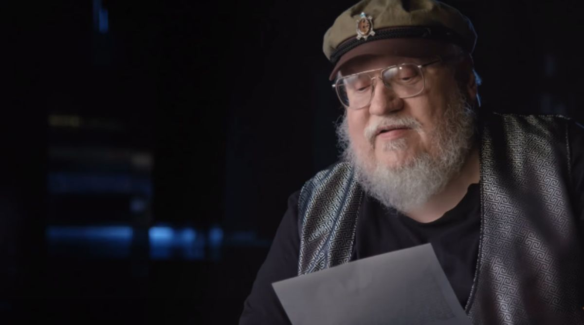 Hear George R. R. Martin reads his Marvel fan letter from 1963