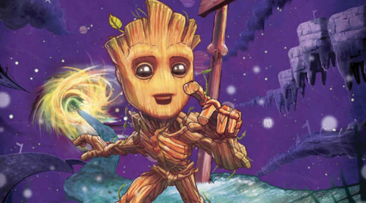 Baby Groot gets marooned in new preview for Marvel's I Am Groot