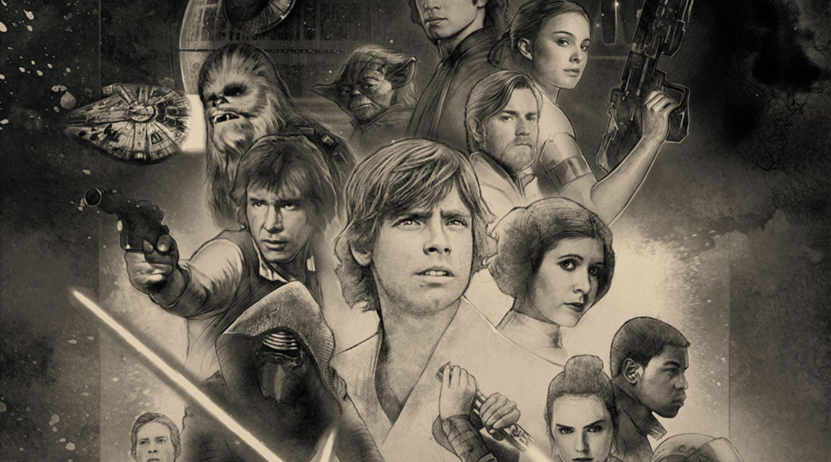 Star Wars Celebration 2017 poster unites the generations