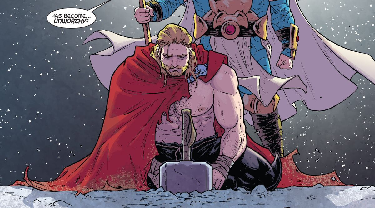 Marvel Comics will finally reveal what made Thor unworthy