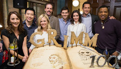 Grimm's cast comes together to celebrate 100 episodes