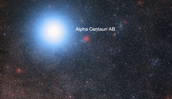 Alpha and Proxima Centauri
