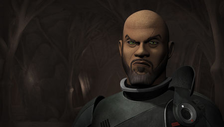Saw Gererra on Star Wars Rebels