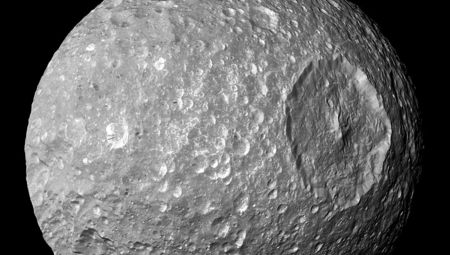 Mimas, the Death Star moon