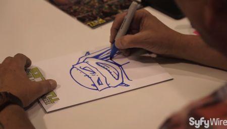Teenage Mutant Ninja Turtles Creator Kevin Eastman: Sketching Leonardo