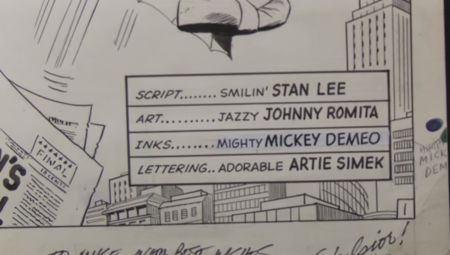 The Art of Spider-Man Exhibit: John Romita Sr.