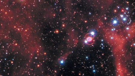 supernova 1987 A in context