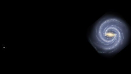 artwork of Milky Way and Virgo I