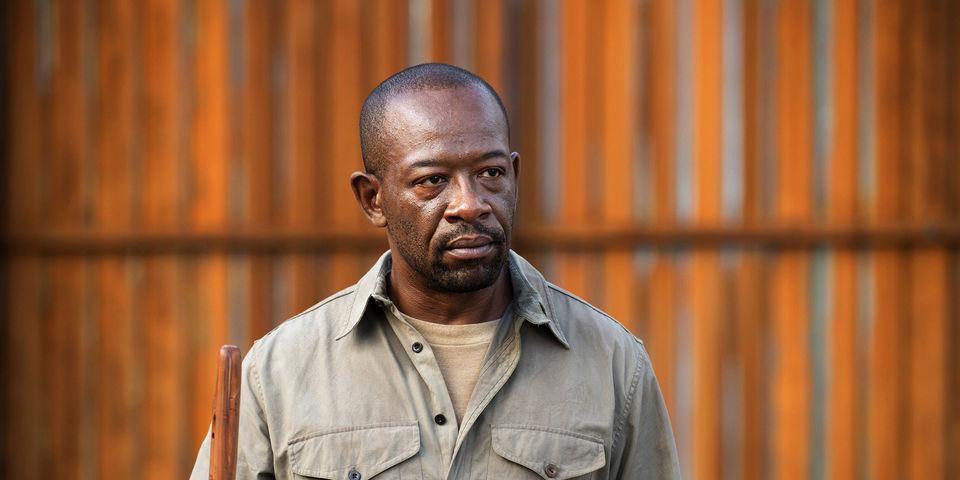 Morgan on The Walking Dead