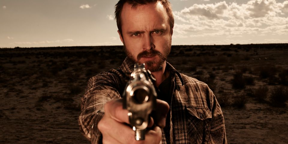 Aaron Paul gunslinger