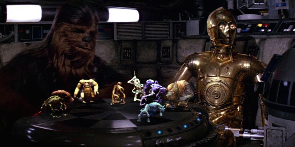 Игры по Звездным Войнам: Создатель голо-шахмат из Звездных Войн разрабатывает подобную игру с расширенной реальностью