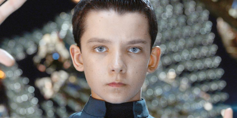 Enders Game Asa Butterfield