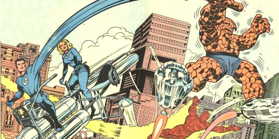 Fantastic Four Jack Kirby
