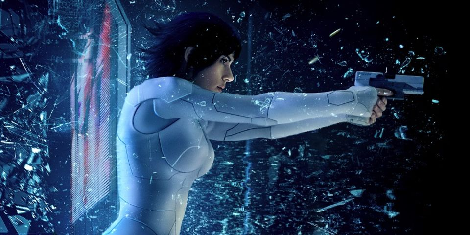 New Ghost In The Shell Posters Are Seriously Stylish