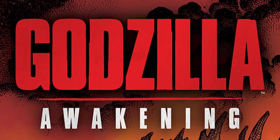 Godzilla Awakening title