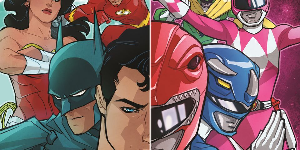 JUSTICE LEAGUE/POWER RANGERS Comic Book Crossover Is Coming