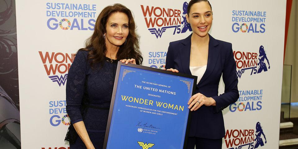 Despite protests, Wonder Woman named United Nations special ambassador