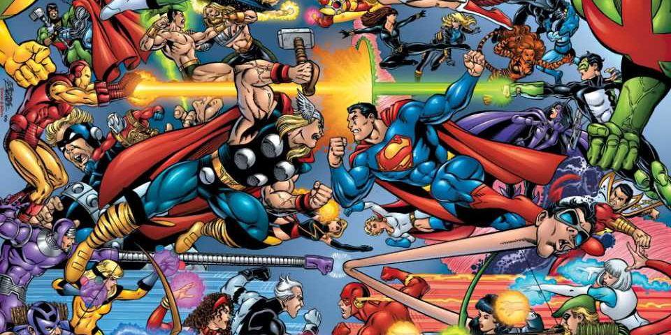 Tournoi de personnages : DC vs Marvel ! MarvelDCFight