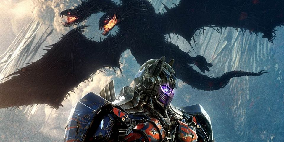 Transformers: The Last Knight International Trailer Unleashes Dragonstorm