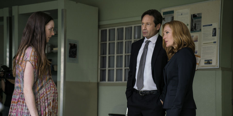 Files' Gillian Anderson sends up David Duchovny's star turn