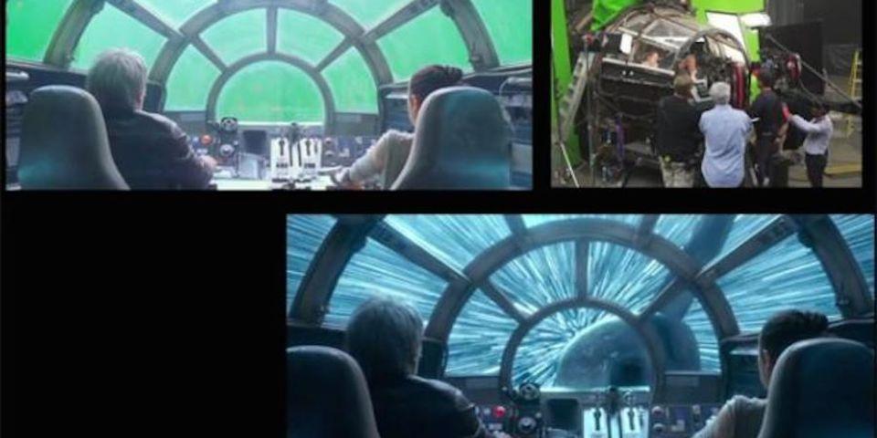 Star Wars: The Force Awakens: Как снимались Звездные войны: Пробуждение силы