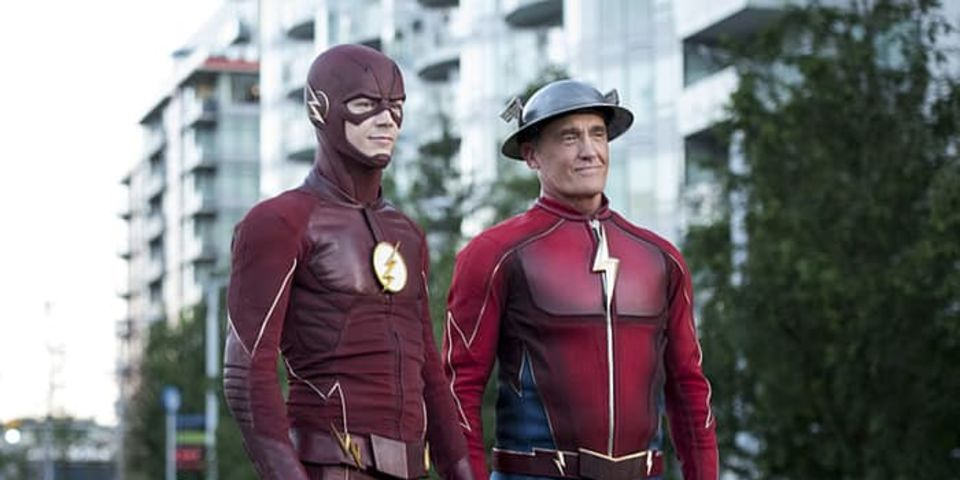 Barry Meets Wally's Flash in Season 3 Premiere Preview