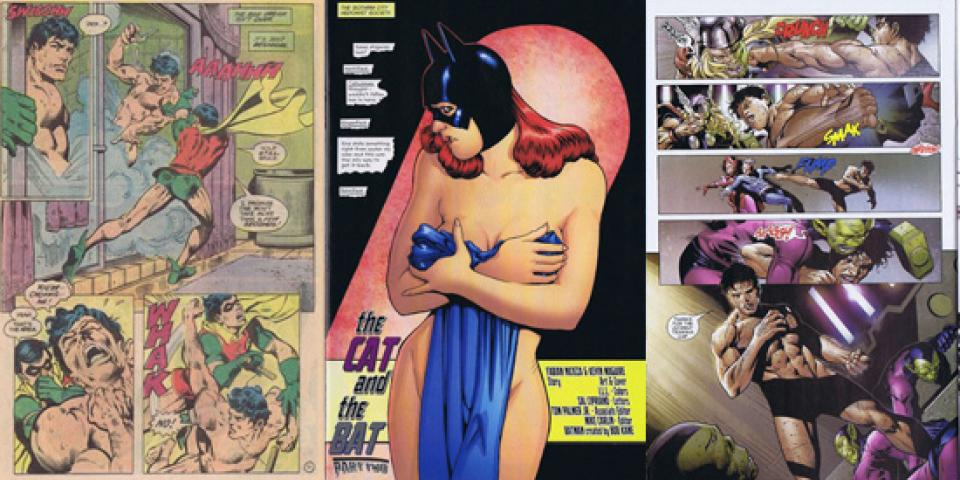 comic book sex nudity