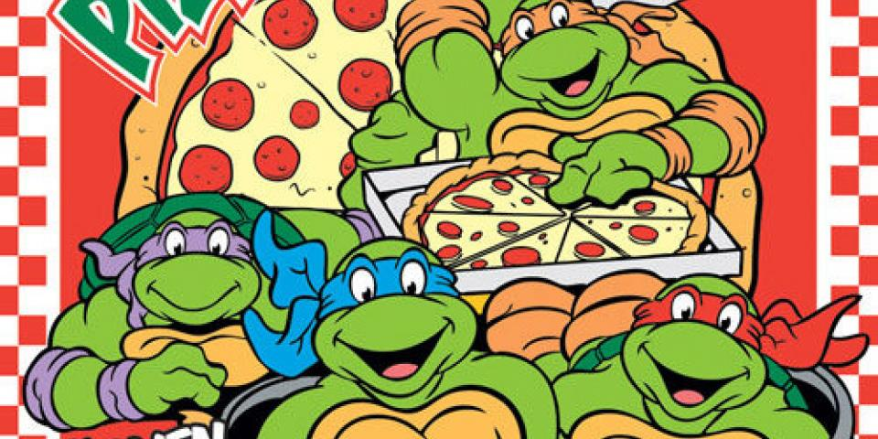 Ninja Turtles Michelangelo Pizza