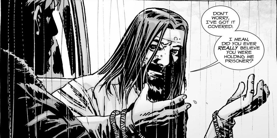Jesus Monroe from The Walking Dead