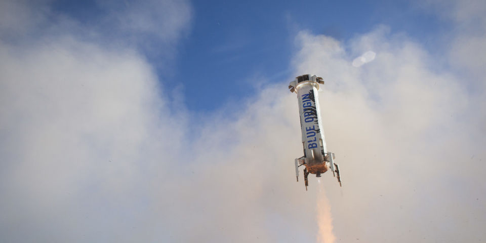 Blue Origins Just Launched Its Rocket Today for the Third Time [Updating]