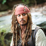 Johnny Depp showed up as Jack Sparrow on Disney's Pirates of the Caribbean ride