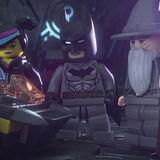 Wildstyle, Gandalf, and Batman in LEGO Dimensions