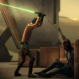 Ezra and Maul