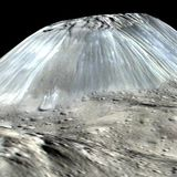 ice volcano Ahuna Mons