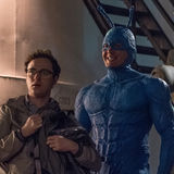 Check out the Big Blue Bug of Justice's new costume on Amazon's The Tick