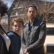 Zachary Levi threatens in Heroes Reborn