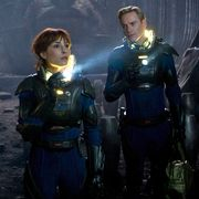 Noomi Rapace in Ridley Scott's Prometheus
