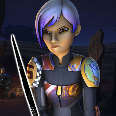Star Wars Rebels Sabine Darksaber