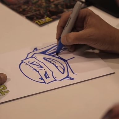 Teenage Mutant Ninja Turtles Creator Kevin Eastman: Sketching Leonardo