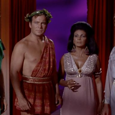 Star Trek TOS costumes