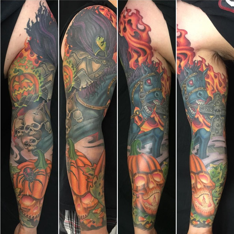 halloween tattoo sleepy hollow