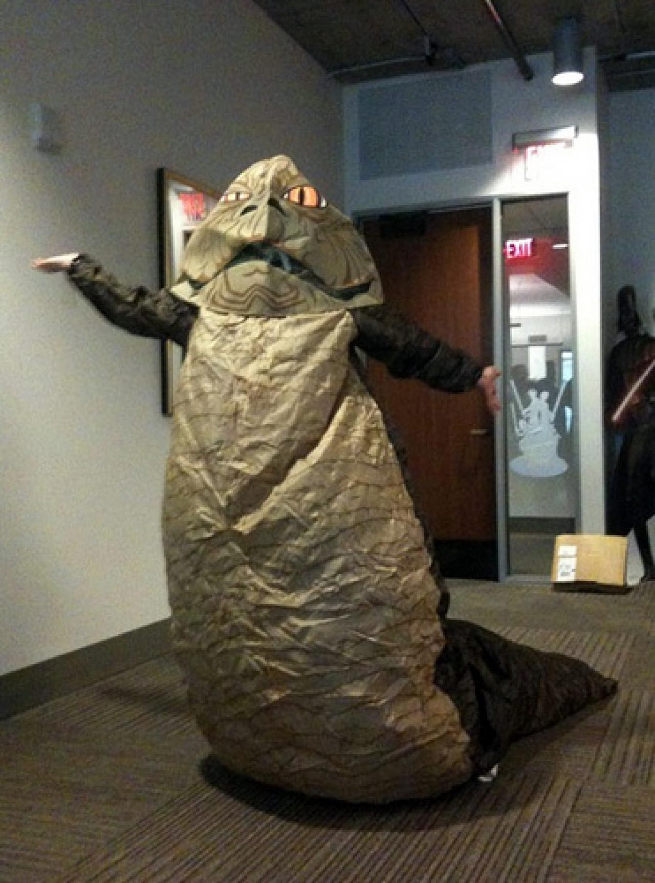 17 awesome Star Wars cosplay ideas you'll wanna copy for ... Jabba The Hutt And Princess Leia Costume