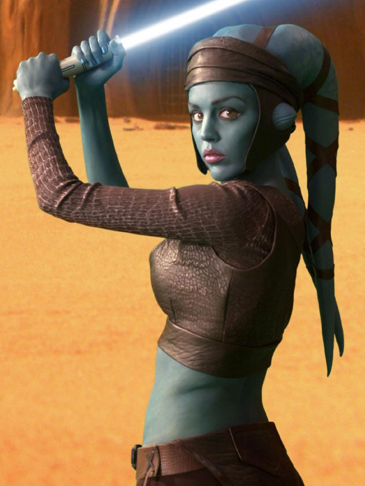 Alien beauty from star wars the clone  erotica pictures