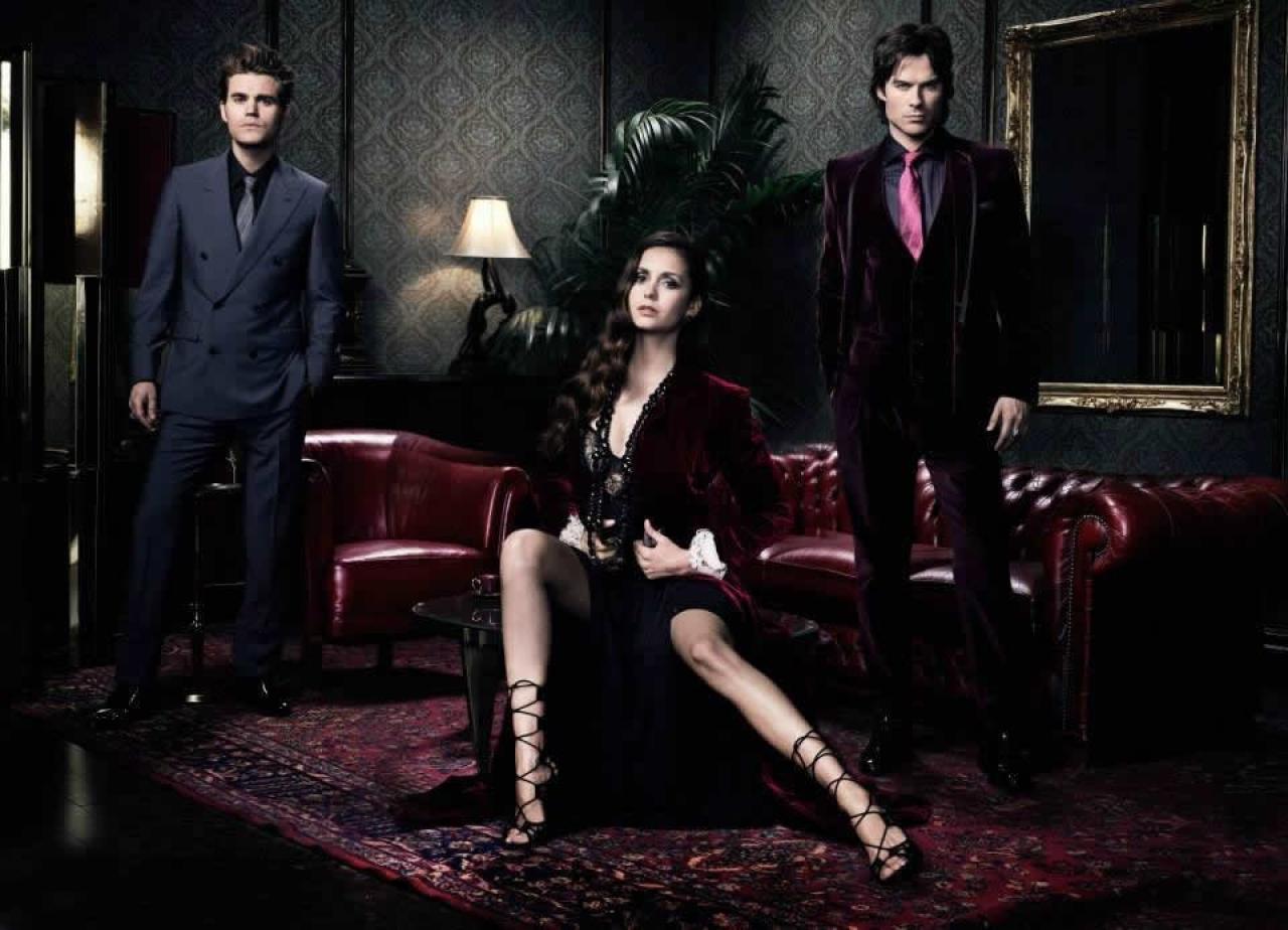 Vampire Diaries Netflix Poster The Vampire Diaries  season