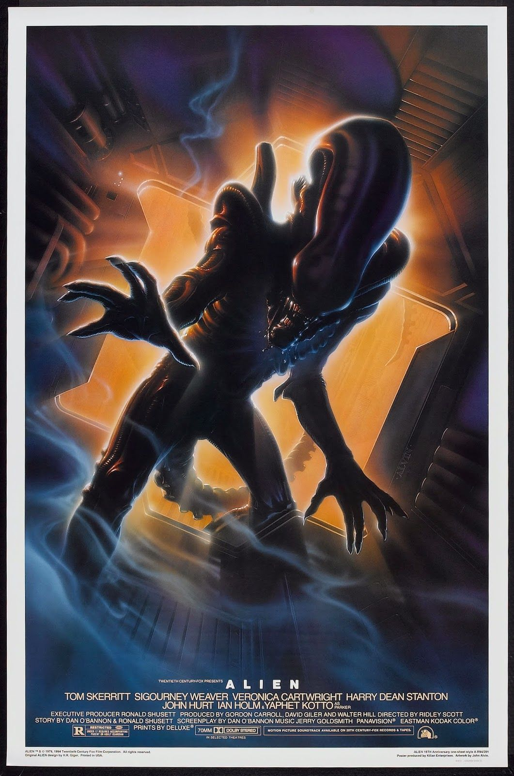 alien movie poster original - photo #35