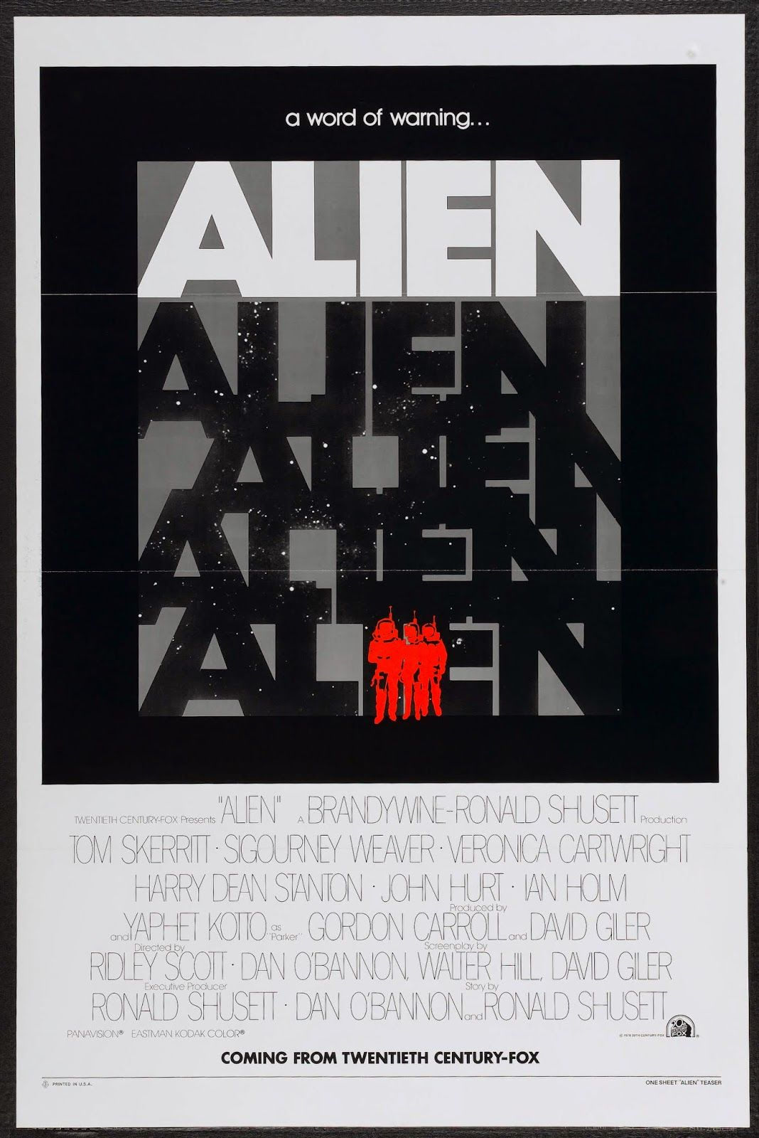 alien movie poster original - photo #20