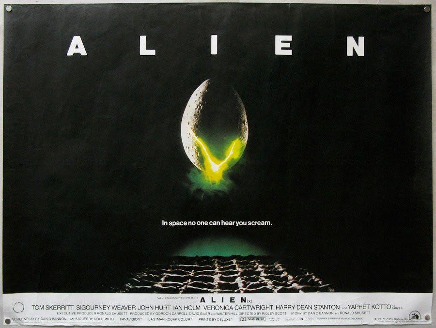 alien movie poster original - photo #29