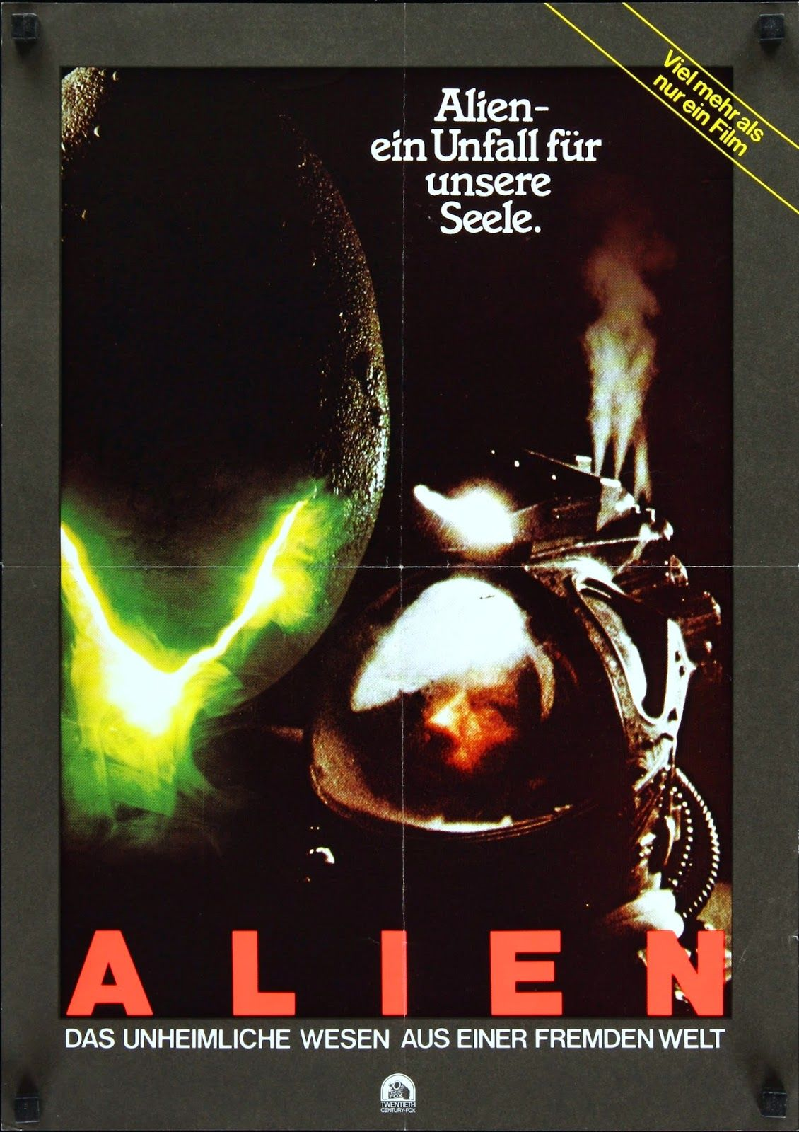 alien movie poster original - photo #37